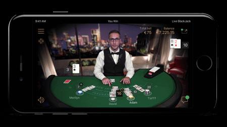 mobile live blackjack