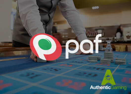 Authentic Gaming Delivers Live Dealer Games To Paf's Portfolio and Customers in Baltic Region