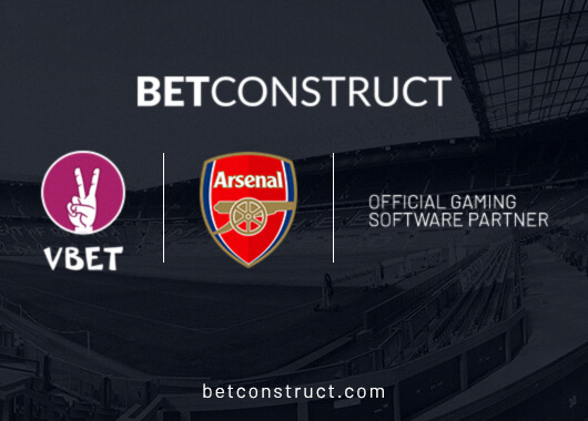 Arsenal Inks 3-year Strategic Deal with BetConstruct's VBET Brand to Become Official Partner