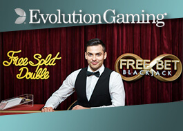 Evolution Gaming Goes Live with Free Bet Blackjack and 2 Hand Casino Hold'em