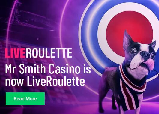 Mr.Smith Casino transforms into live roullete casino