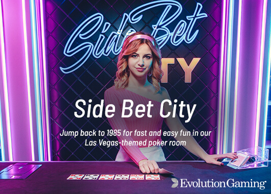 Evolution Gaming Prepares Roll Out of Side Bet City
