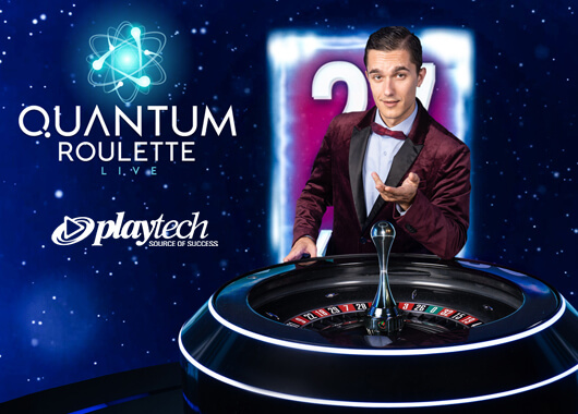 Playtech Announces the Launch of Their Brand-New Live Roulette Game: Quantum Roulette