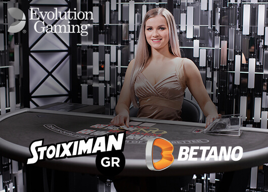 Stoiximan Adds Live Casino Portfolio from Evolution Gaming to its Offering