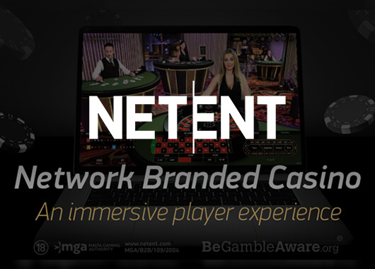 NetEnt Introduces New Network Branded Casino and Takes Its Live Offer to the Next Level