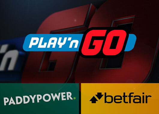 Play'n GO Sings a Deal with Paddy Power Betfair to Supply Content