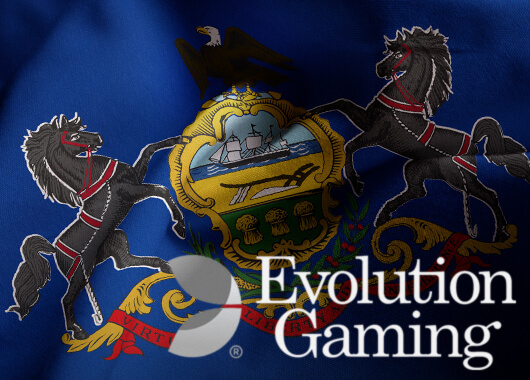 Evolution Gaming Chosen for Pennsylvania Live Casino Launch by Penn National Gaming