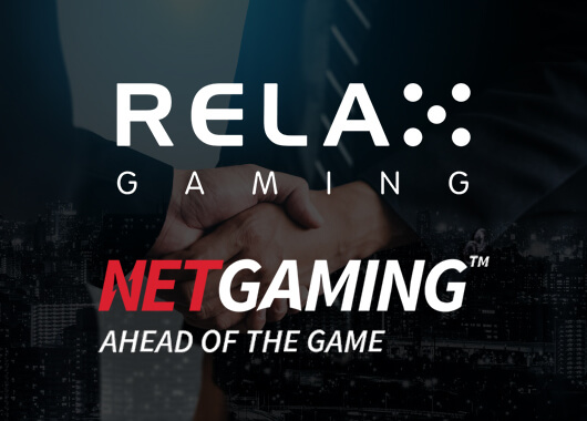 Relax Gaming and NetGaming Pen Distribution Deal