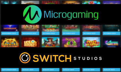 Microgaming and Switch Studios Sign Table Games Deal