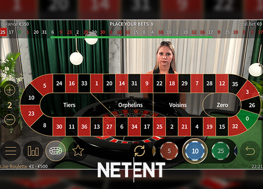 NetEnt Upgrades Live Roulette Mobile Interface