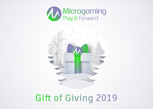 Microgaming Raises £210,000 through its Gift of Giving Campaign
