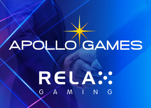 Relax Gaming Adds Apollo Games' Titles to Powered by Programme