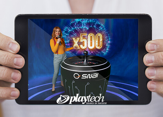Playtech Launches Quantum Roulette with Snaitech