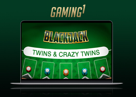 GAMING1 Launches Blackjack Twins and Crazy Twins