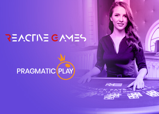Pragmatic Play's Live Casino Games Live via Reactive Games