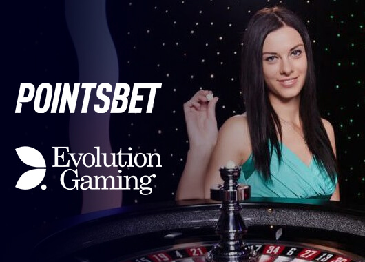 Evolution Gaming Signs Partnership with PointsBet US