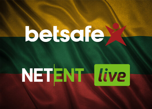 NetEnt Live Casino Games Live in Lithuania with Betsafe