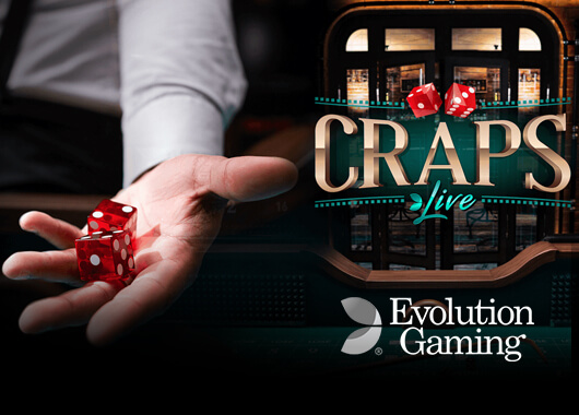 Live Craps Game a New First for Evolution