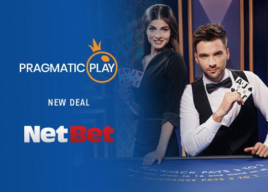 NetBet's Adds Pragmatic Play's Live Dealer Games