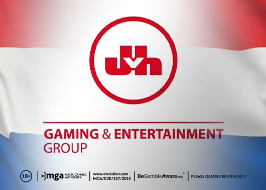 Evolution's Live Casino Titles Live with JVH Gaming & Entertainment