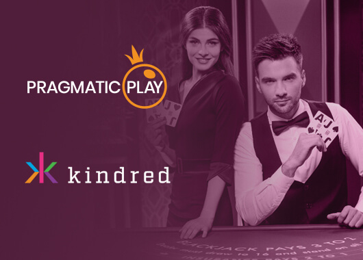Pragmatic Play Integrates Live Content with Kindred