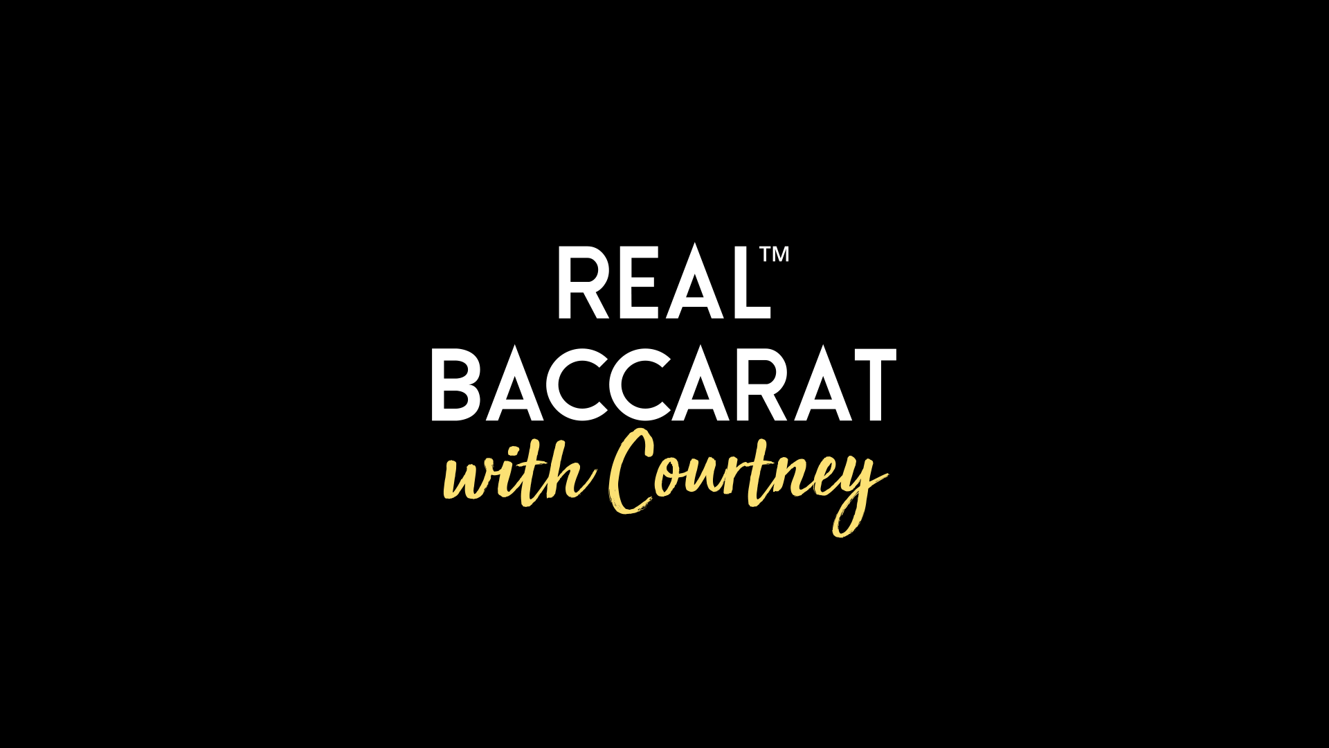Real Baccarat with Courtney by Real Dealer Studios Goes Live