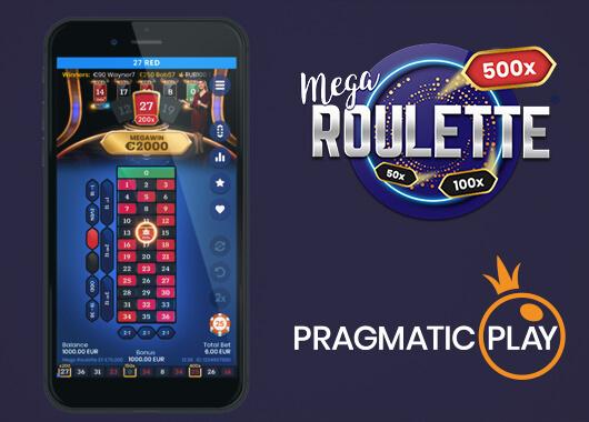 Pragmatic Play Unveils Mega Roulette