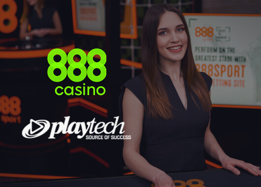 888casino Launches Playtech Live Casino and RNG Titles