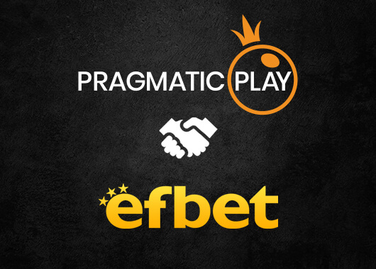 Pragmatic Play's Live Casino Content Live on Efbet
