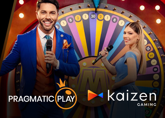 Pragmatic Play's Live Casino Games Launch on Kaizen Gaming