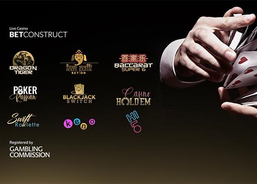 BetConstruct Registers Nine Games With UKGC