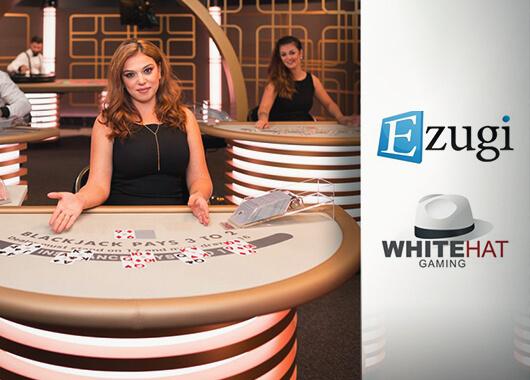 Ezugi Signs Distribution Partnership with White Hat Gaming
