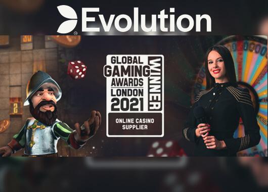 Evolution Wins Three Prizes at Global Gaming Awards 2021