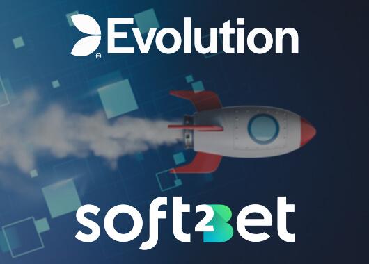 Evolution Adds Titles to Soft2Bet's Platform