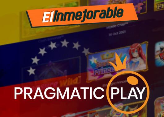 Pragmatic Play's Content Goes Live with El Inmejorable in Venezuela